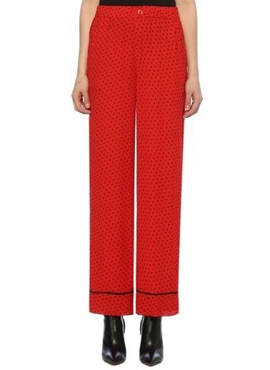 Ganni Pantolon Kırmızı